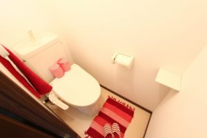 風水の色とトイレ