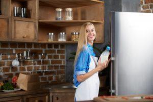 風水キッチンの風水で冷蔵庫